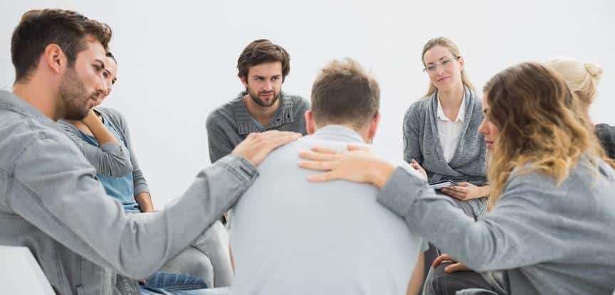 roda de terapia em grupo