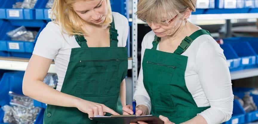 mulheres trabalhando