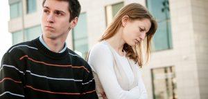 foto de casal brigado