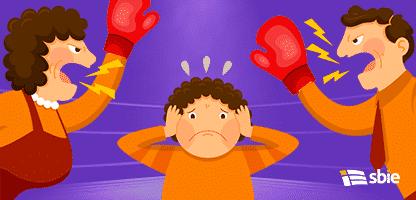 Pais combatentes– ilustração de bancos de imagens