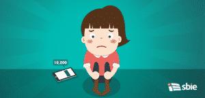De saúde infográfico sobre mulher de depressão com sinal– ilustração de bancos de imagens