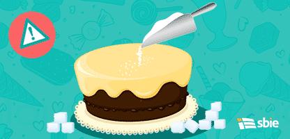 Coleção de bolos 2 - – ilustração de bancos de imagens
