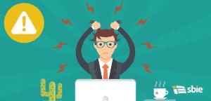Estresse no trabalho. Conceito de situação de stress. Ilustração em vetor plana– ilustração de bancos de imagens