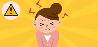 Mulheres frustradas pelo stress– ilustração de bancos de imagens