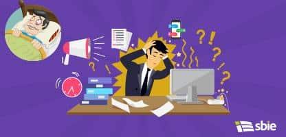 Stressful Condition Icon Flat Isolated– ilustração de bancos de imagens